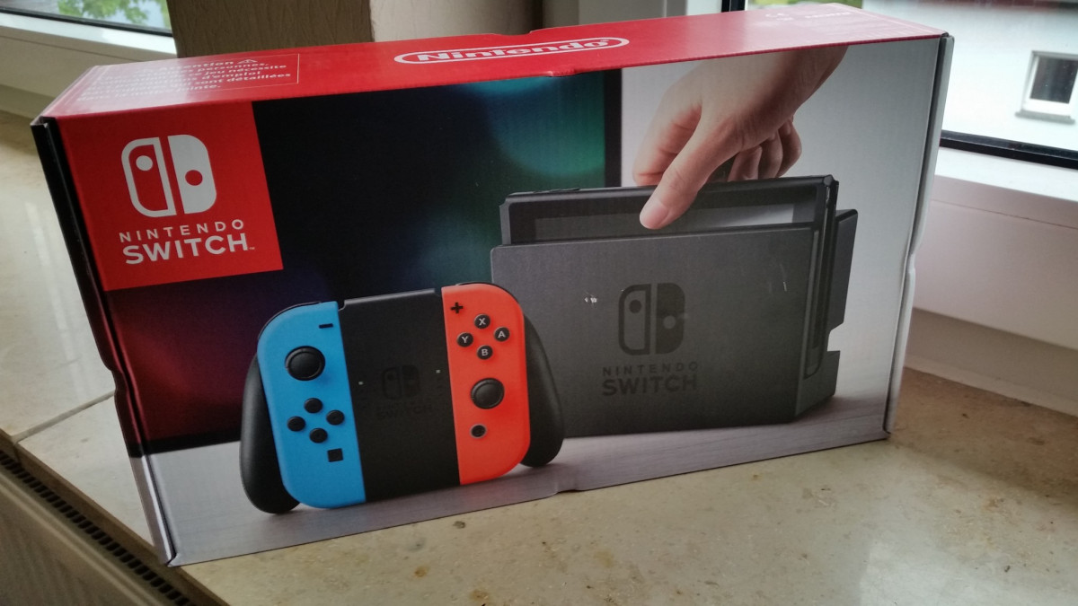 Nintendo Switch endlich in meinem Besitz