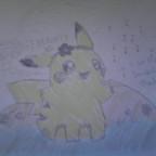 Ein selbstgezeichnetes Bild für Pika Pika. :D