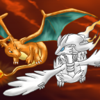charizard_and_reshiram_flying_by_shadowhatesomochao-d4g0zlb