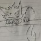 Gengar x Cheshire Cat