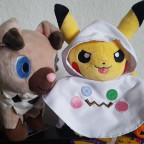 Wuffels und Halloween Pikachu