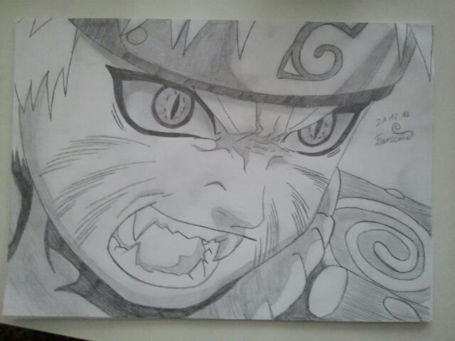 Naruto Kyuubi Mode