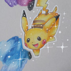 Shiny Pikachu. <3