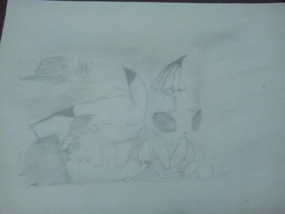 Pikachu und Celebi ~ Pokèmon 4 Eine Zeitlose Begegnung