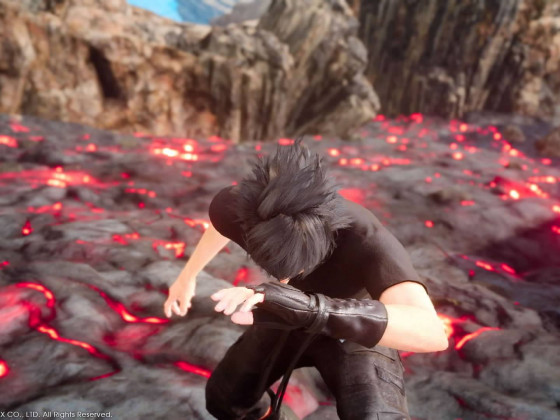 Noctis: Tolle Pose