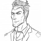 Handsome jack Scribble