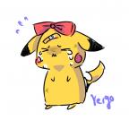 Pikachu weint