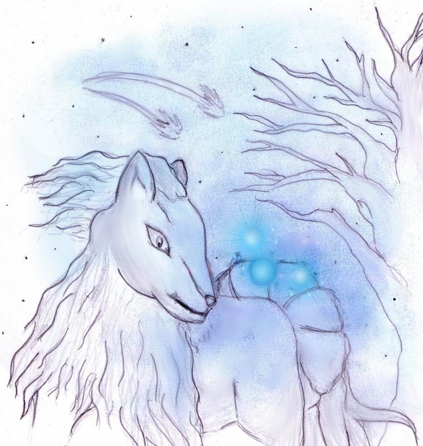 Wichtel-Zeichnung von MaiTai
