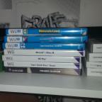 Videospiel Sammlung (Nintendo Heimkonsolen)