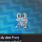 Shiny Froxy
