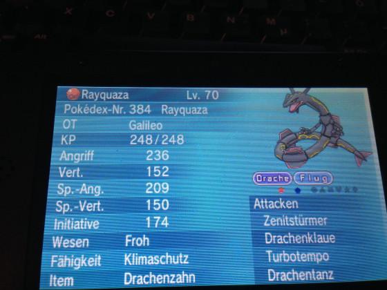 Rayquaza - Reset SUCCESS!