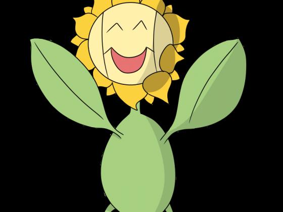 Zeichnen wir den Pokédex 192 - Sonnflora