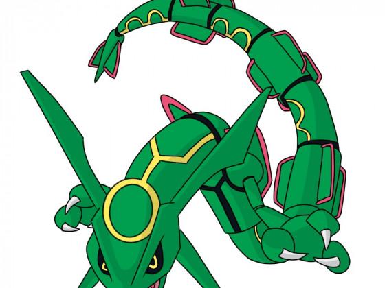 Den Pokédex Zeichnen 384 - Rayquaza