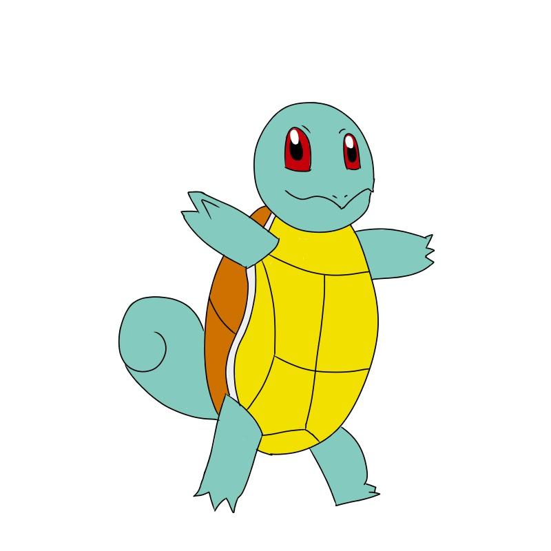 Daily Pokémon 7 - Schiggy