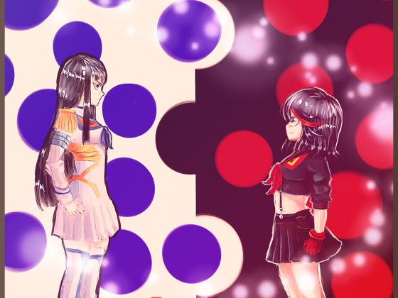 Kill la Kill - Satsuki & Ryuko