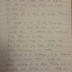 Meine tolle Handschrift