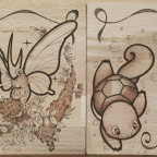 Muscheltaucher und Fliederfalter