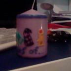 Nerd-Trish's Kerze