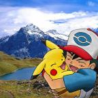 Pikachu und Satoshi