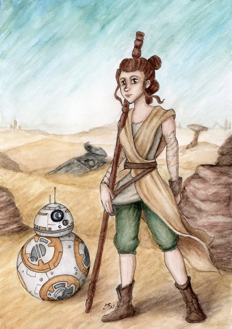 Rey und BB-8