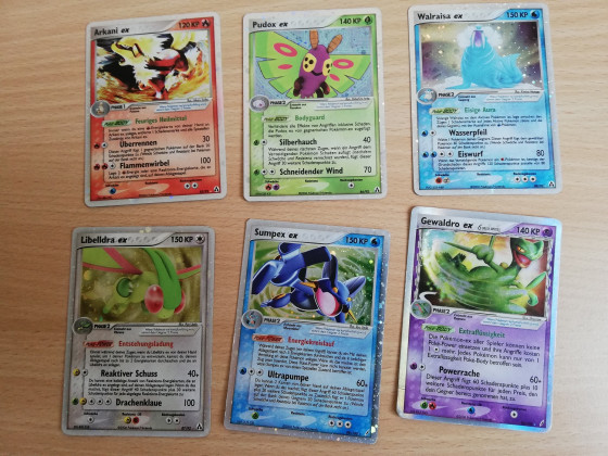 Neue ex Karten alter Serien <3