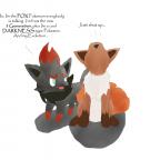 Zorua vs Vulpix