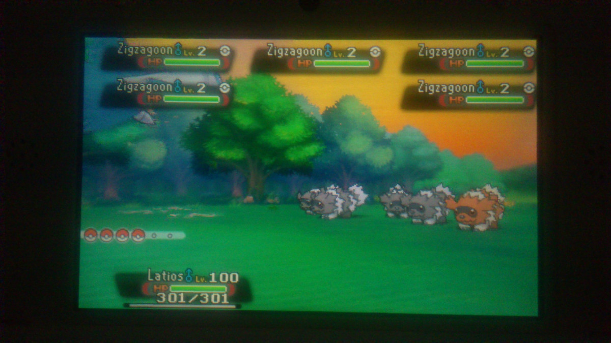 Mein 2. wildes Shiny in OmegaRubin *-* (28. Juni 2016)