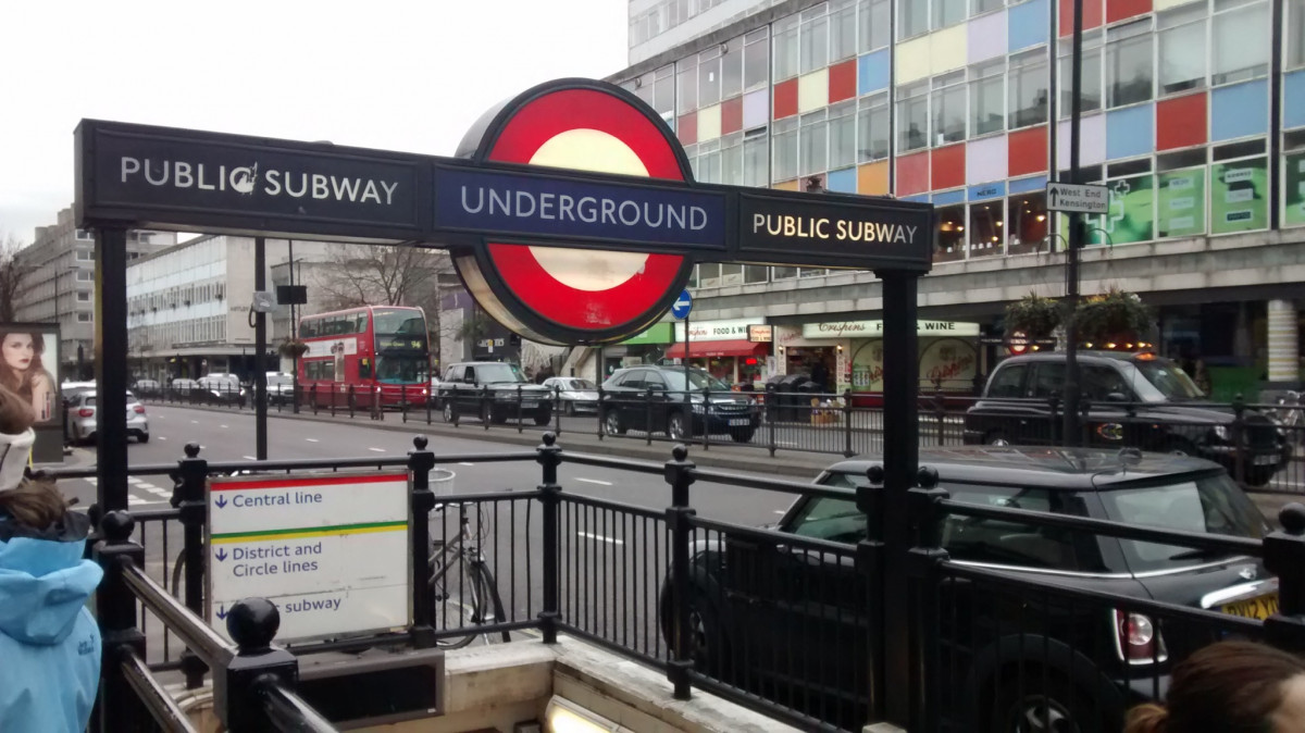 The London Underground - Die londonianische Sardinenbüchse