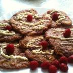 Selbst gemachte Himbeer-Cookies