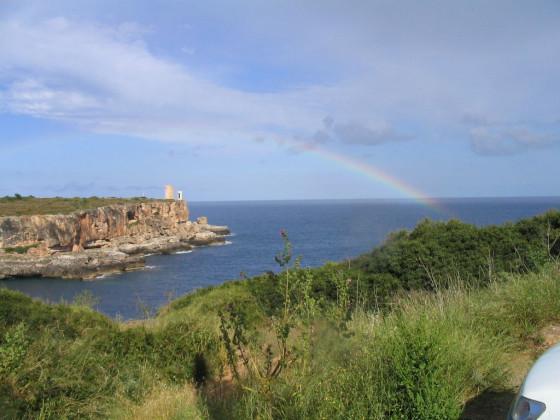 Mallorcas wunderschöne aussicht
