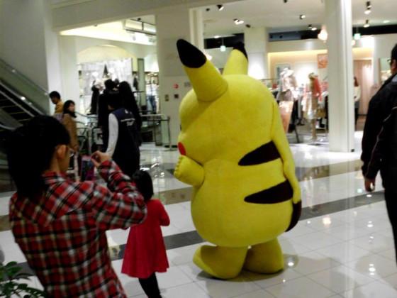 War nur eine Frage der Zeit bis das erste wilde Pikachu erscheint.