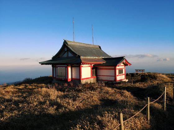 Kleiner Schrein auf Mt. Komagatake