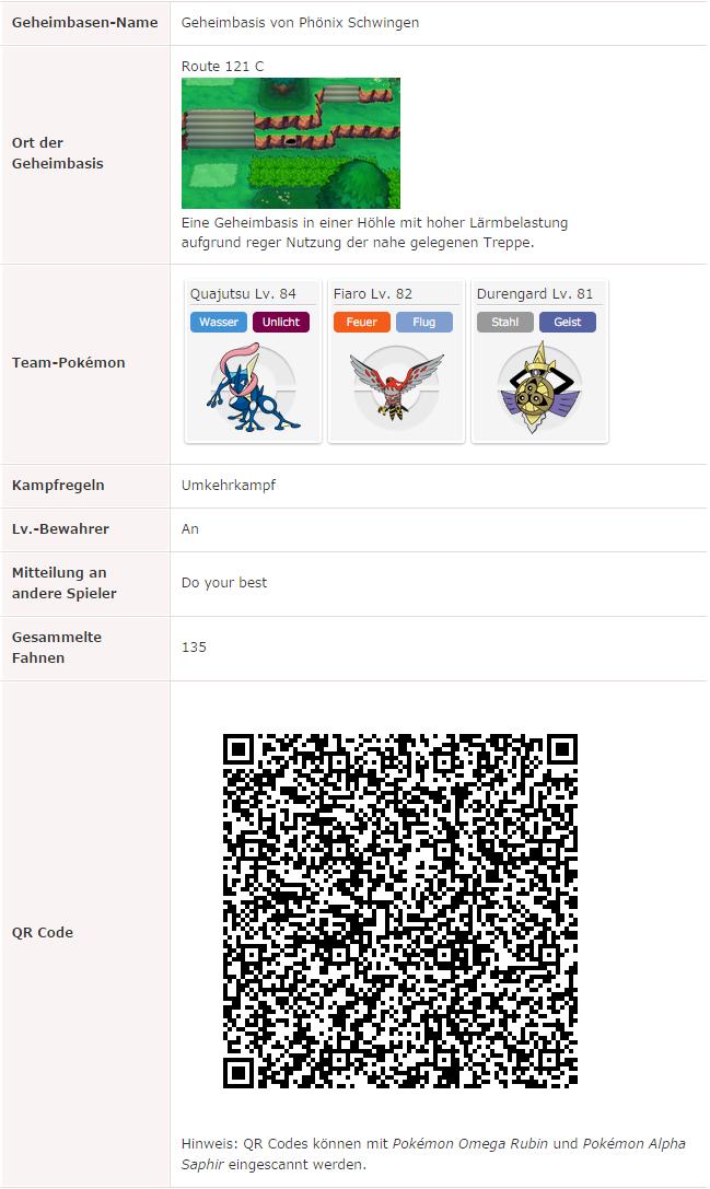 QR-Code meiner aktuellen Super Geheimbasis in Omega Rubin (Stand: 16.12.2014)