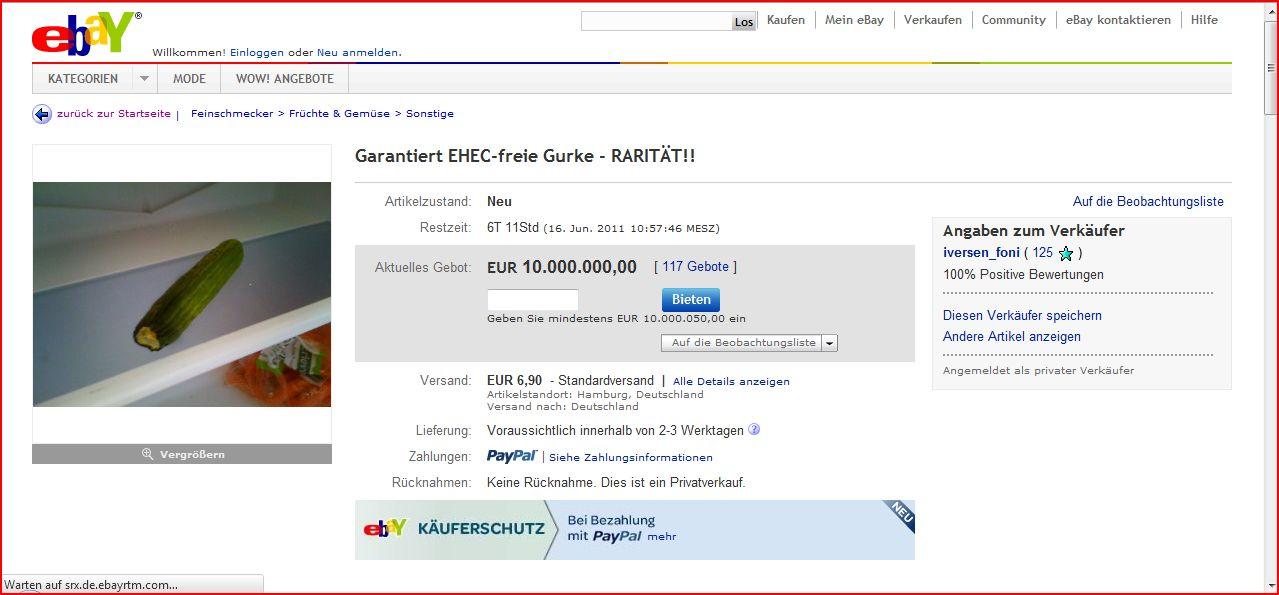 Ebay-Rarität