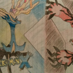 Xerneas & Yveltal (Cover Pokemon X/Y)
