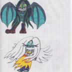 Hexe und Engel