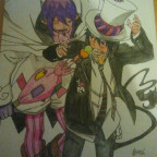 Mephisto and Rin