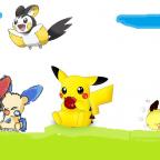 Pikachu und seine Freunde