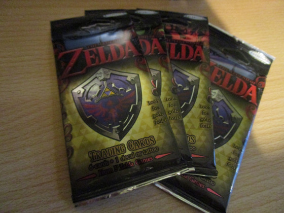 Zelda Trading Card Game Booster Packungen