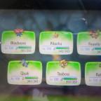 Mein Team (Let's Go Pikachu)