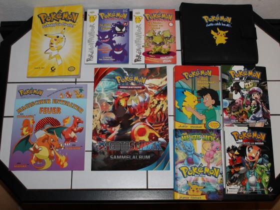 """Pokemon Books likes - """"10 Jahre Sammlung"""""""