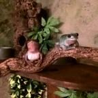 Fridolin (L) und Gisela (R)