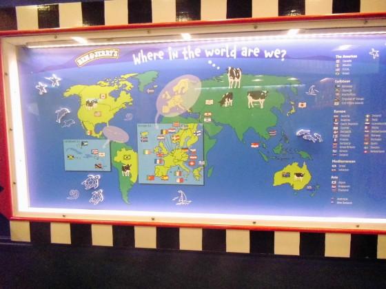 Weltweite Verkaufsorte