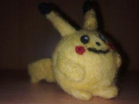 Pikachu [Trockenfilz Technik]