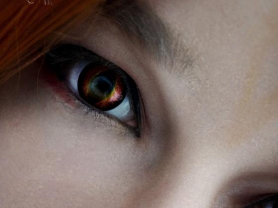 Sauron Make-Up Test