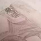 selbst gezeichneter Alien