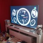 Kleine Unordentliche Natur von mir + mein Fernseher ^^