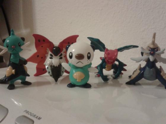 Meine PokéDay 2013 Figuren