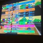 Schon geil, wenn man die Wii an die Wand projeziiert O.o