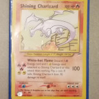Shining Charizard Karte!